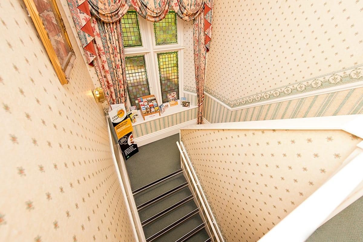 YHA Eyam Staircase