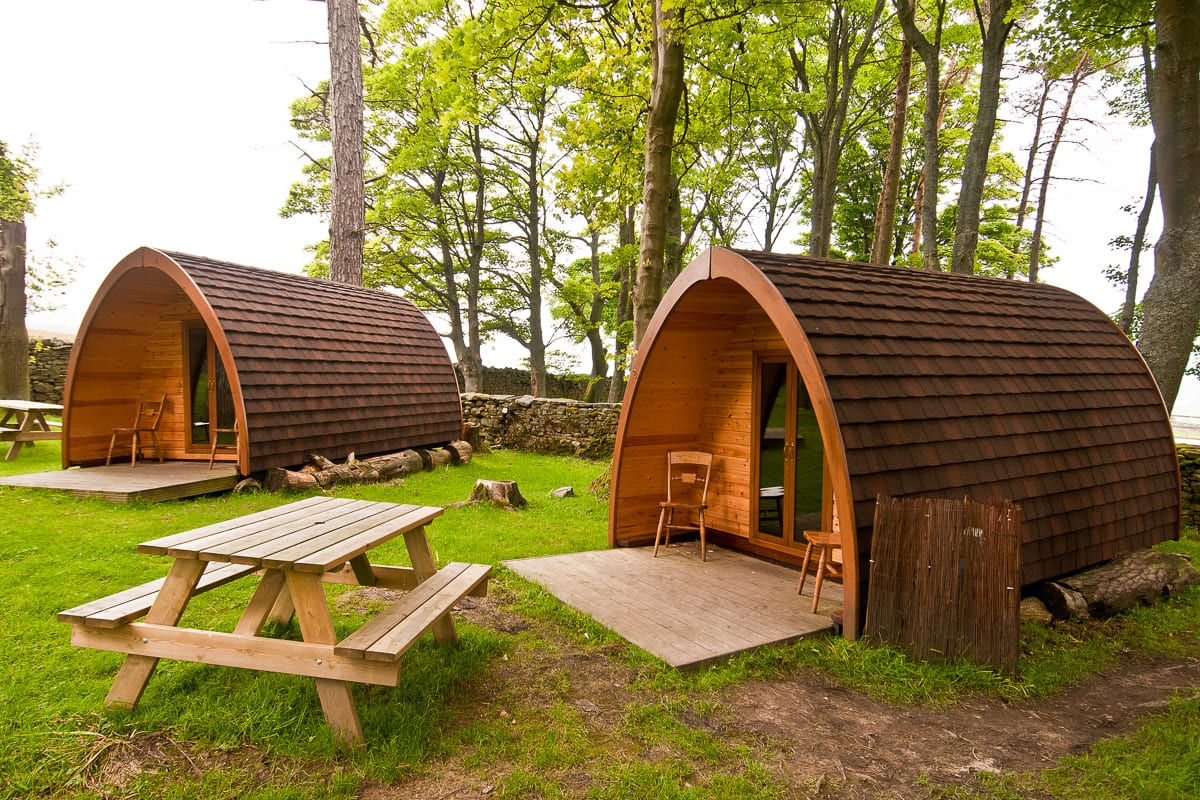 YHA Grinton Lodge Camping Pods