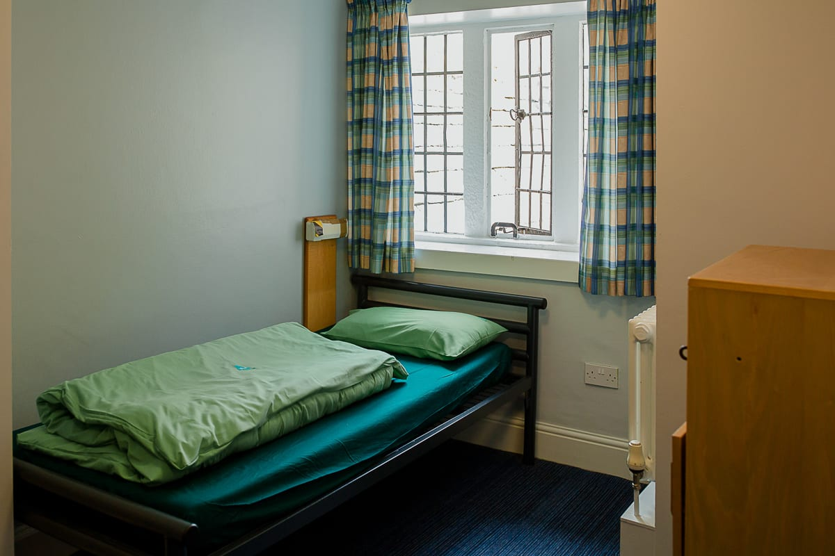 YHA Hartington Hall Bedroom
