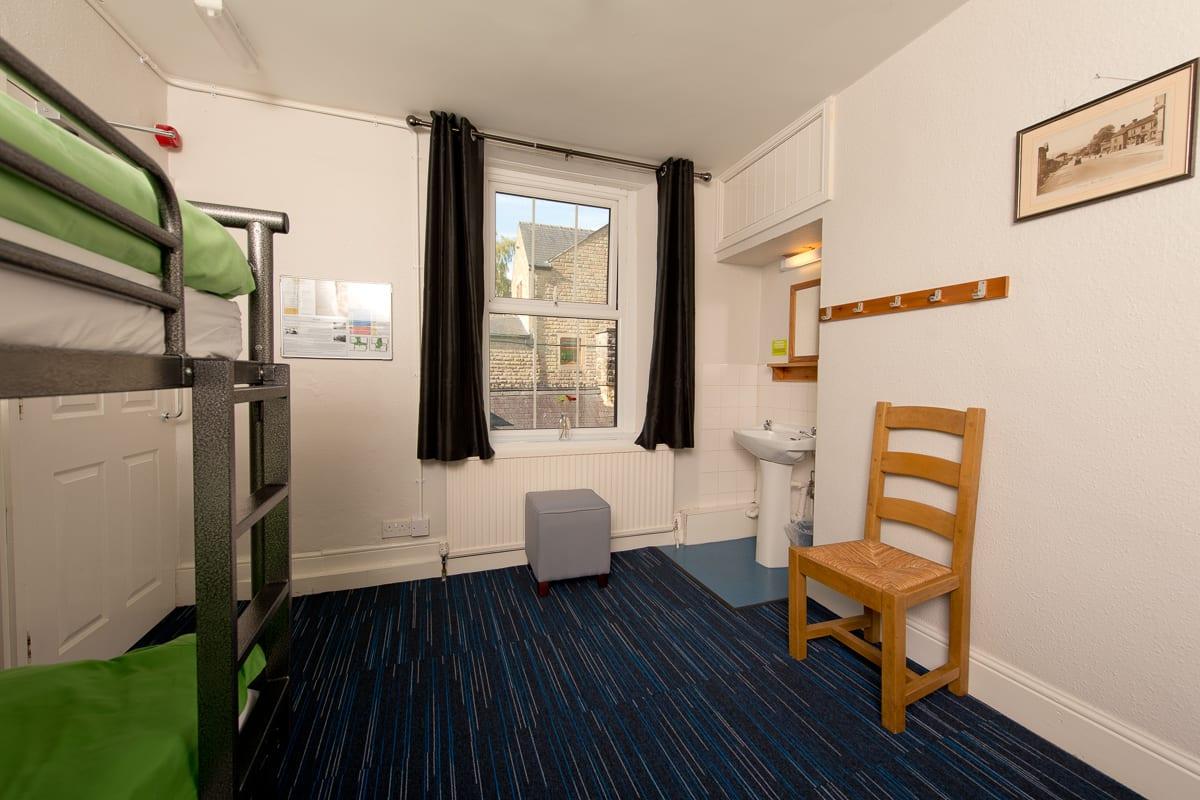 YHA Hathersage Bedroom