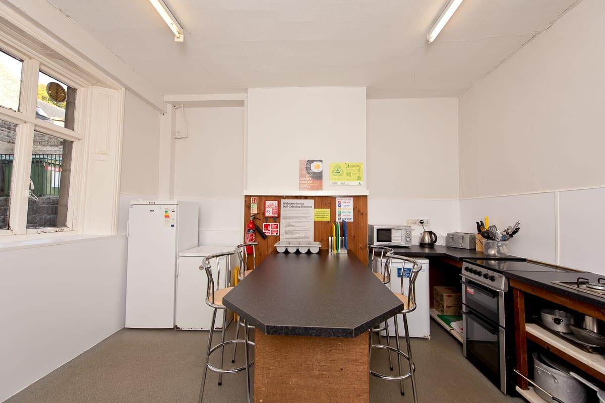 YHA Hathersage Kitchen