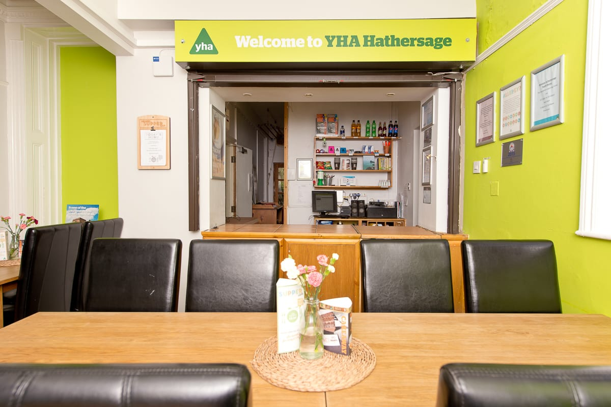 YHA Hathersage Reception and Seating