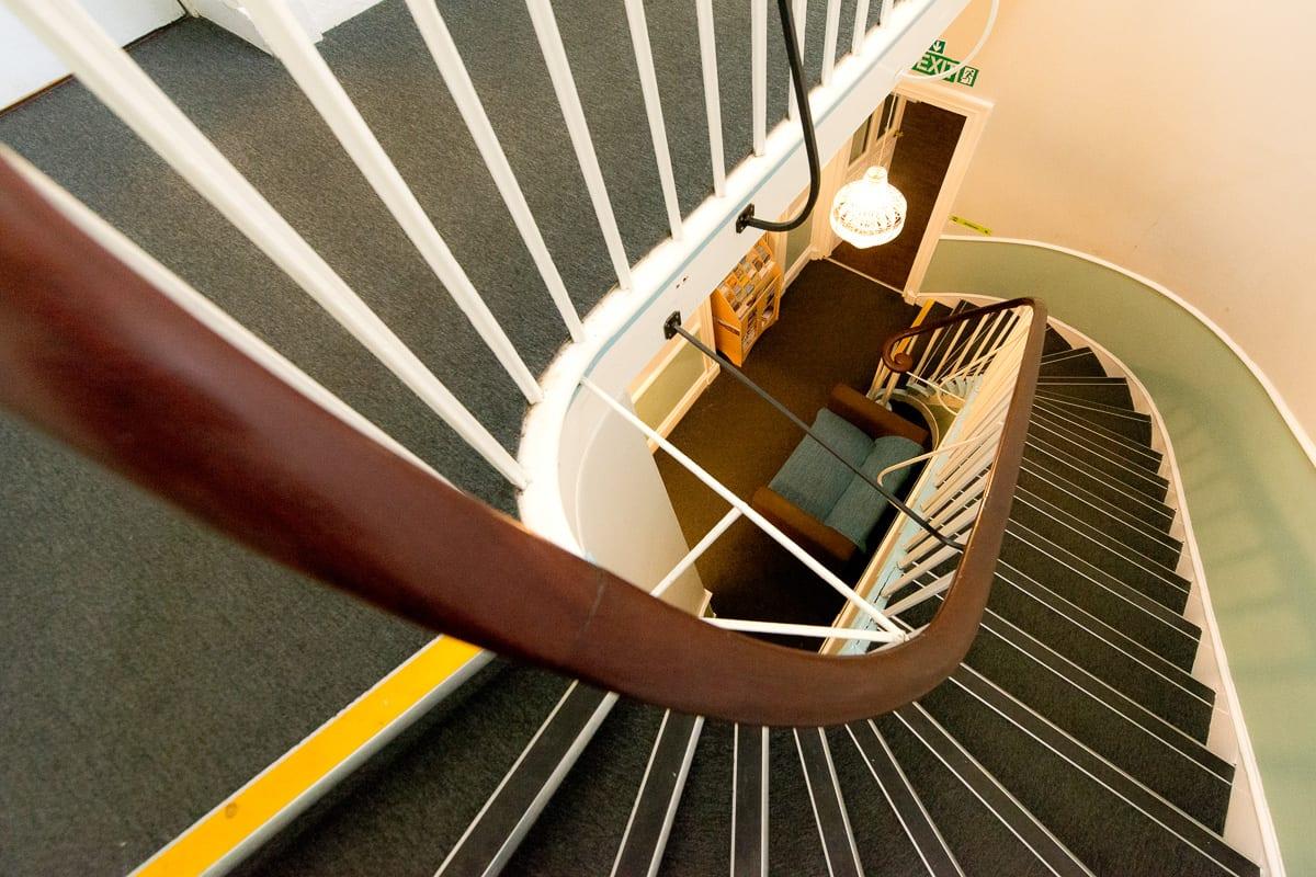 YHA Hawkshead Stairs