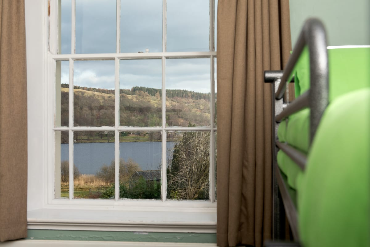YHA Hawkshead Bedroom View