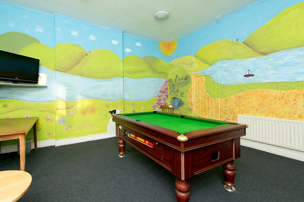 YHA Hawkshead Games Room