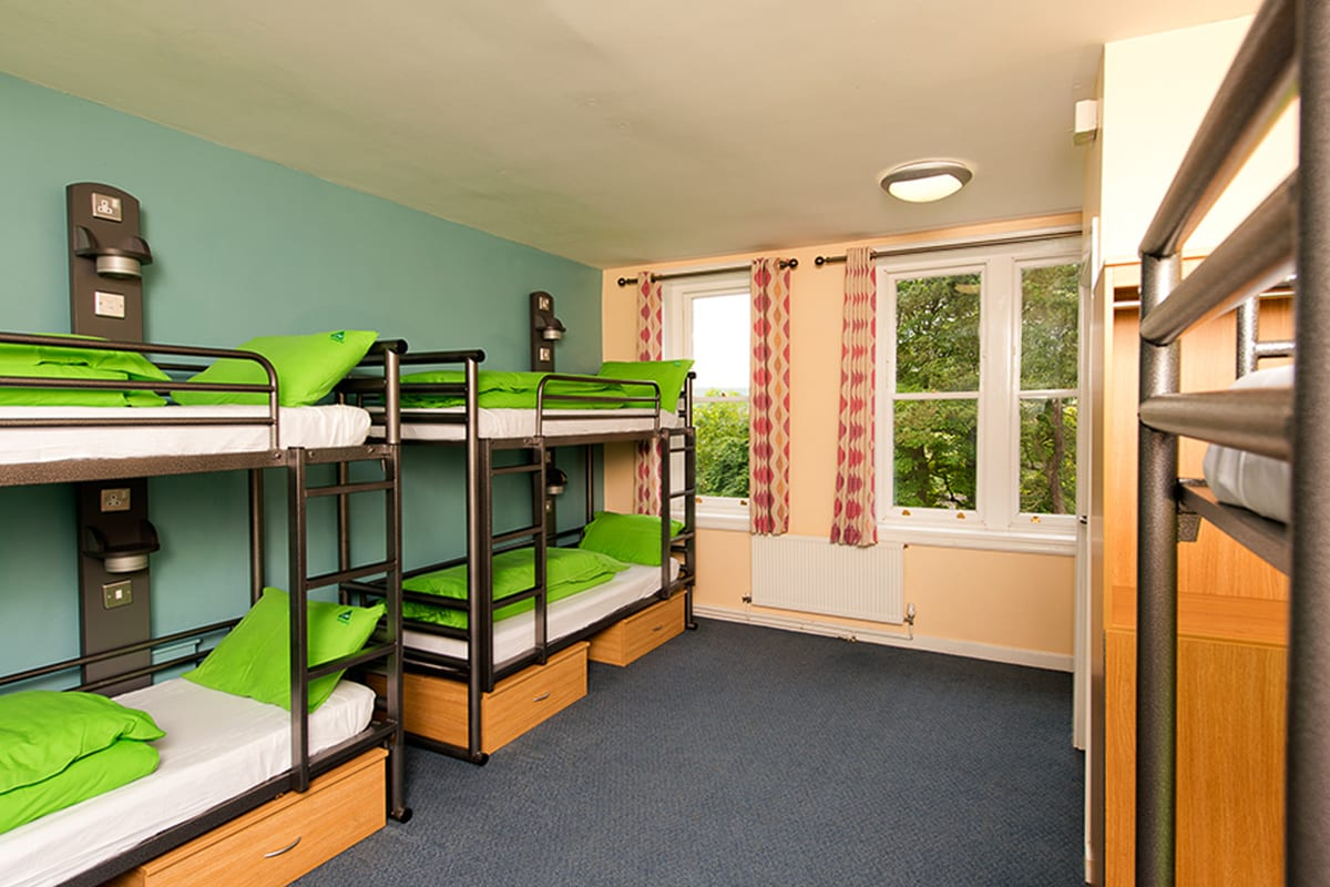 YHA Haworth Bedroom