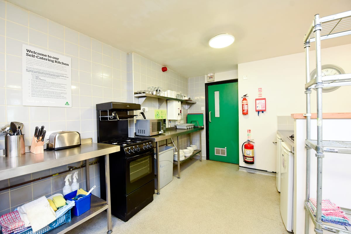 YHA Haworth Kitchen
