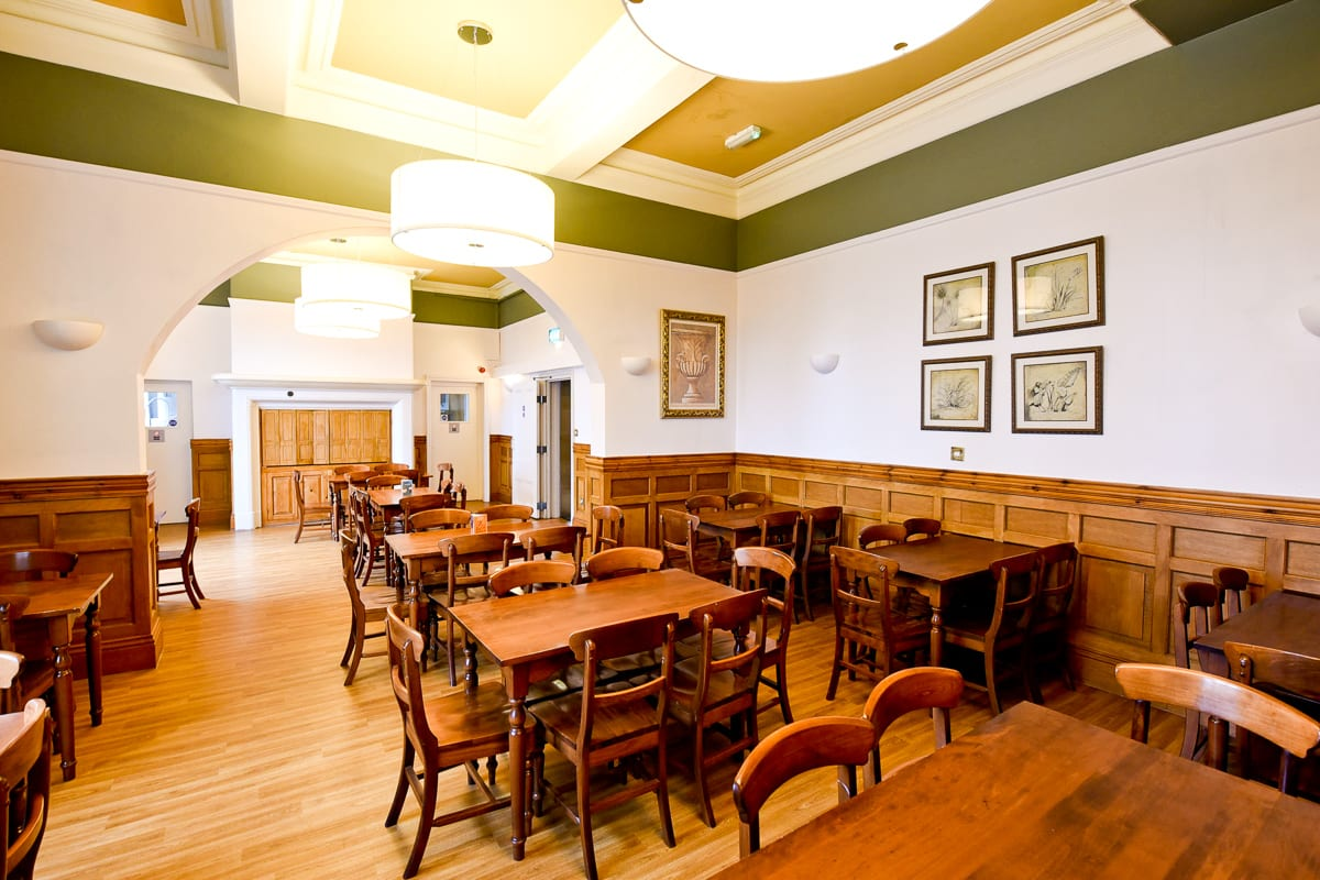 YHA Haworth Dining