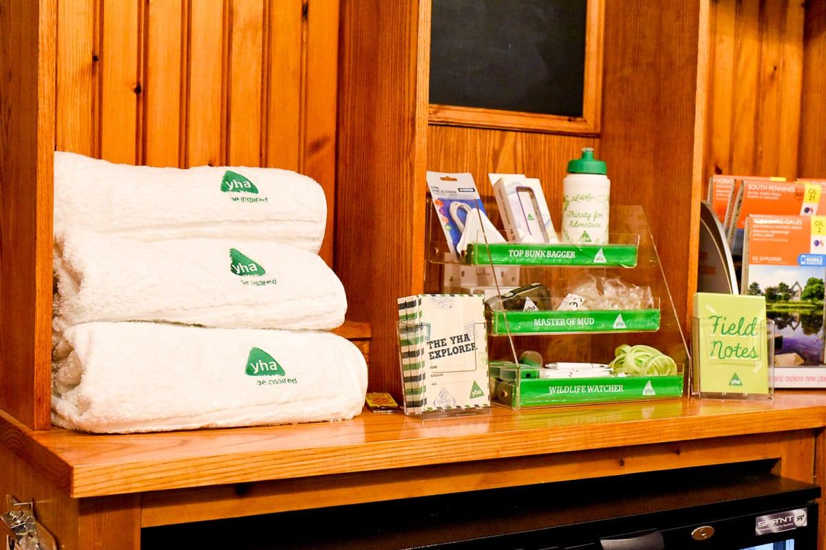 YHA Haworth Reception Shop