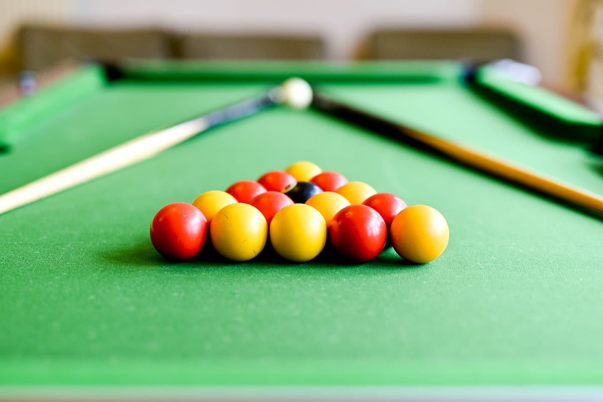 YHA Haworth Pool Table