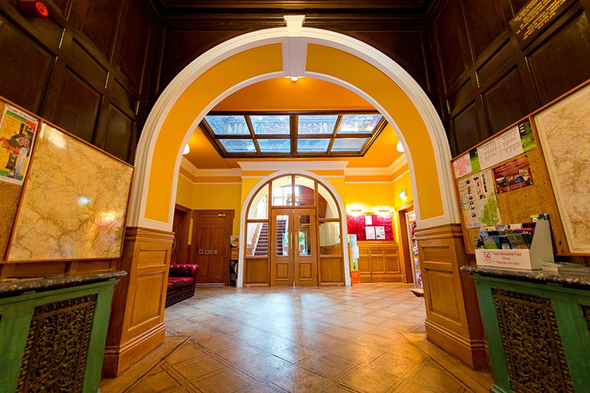YHA Haworth Entrance