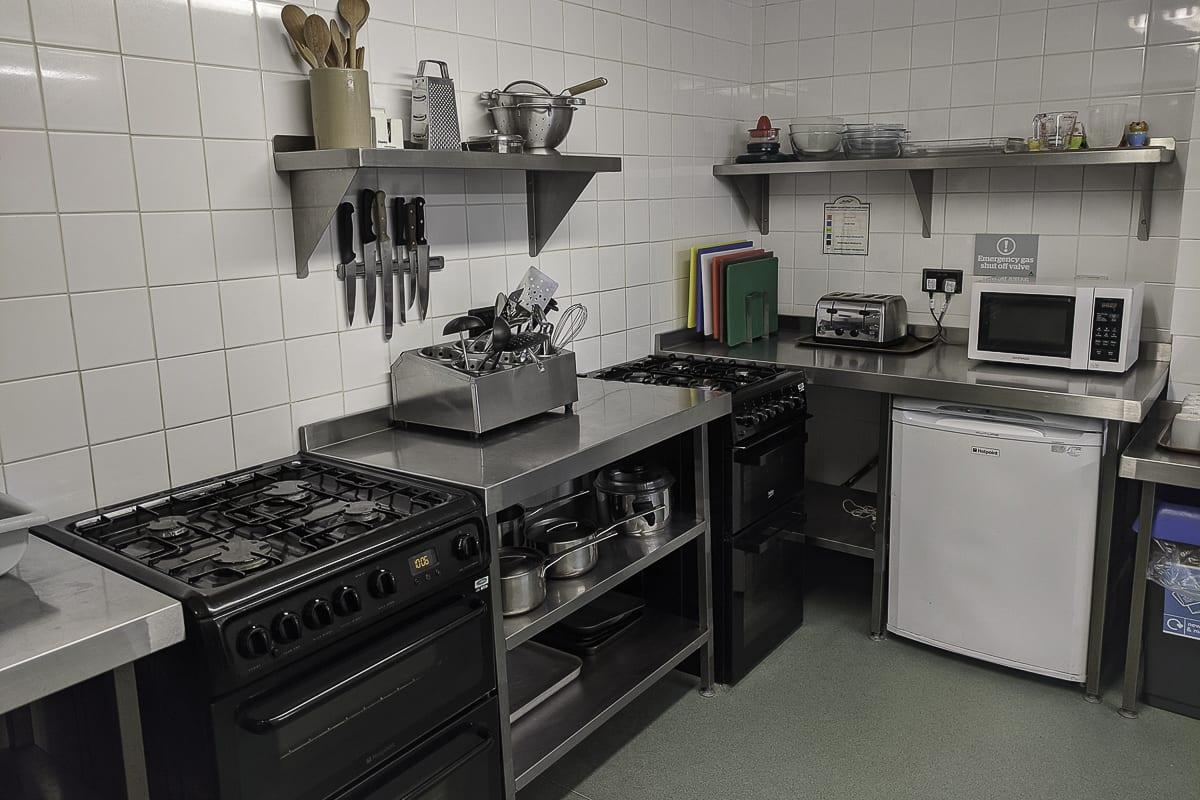 YHA Helmsley Kitchen