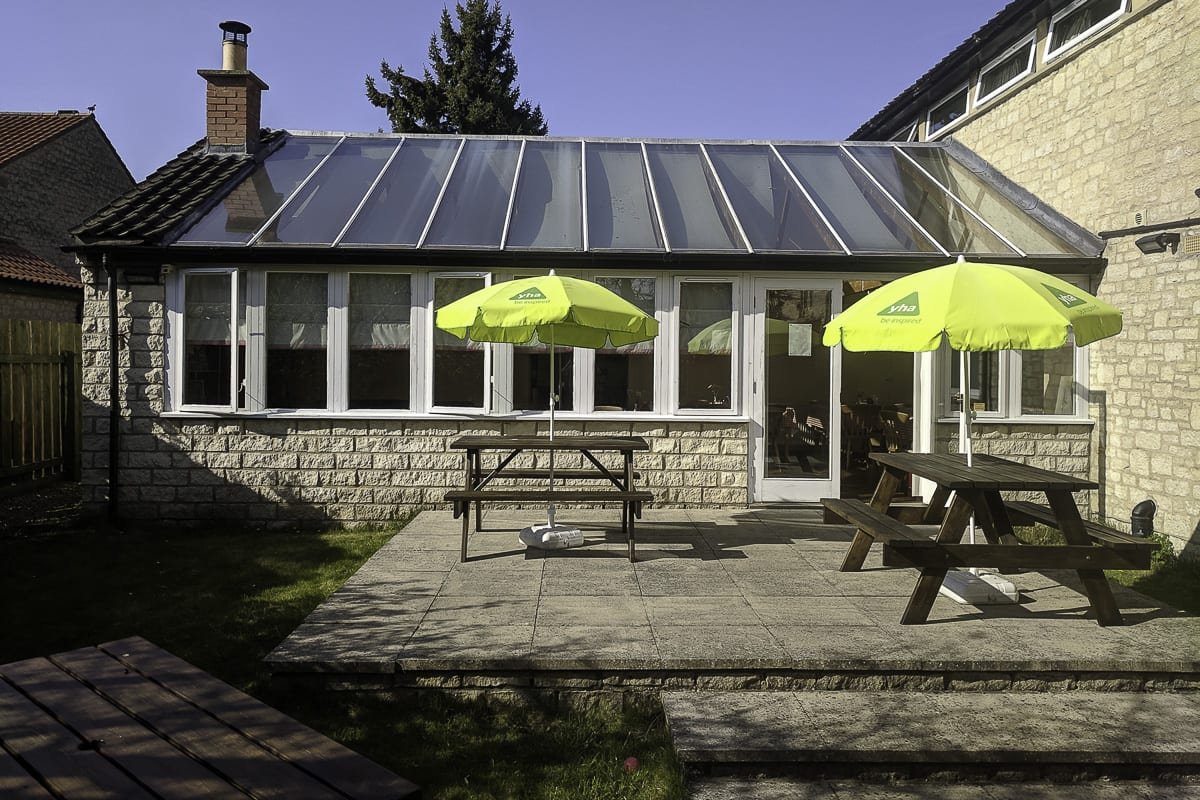 YHA Helmsley Courtyard and Seating