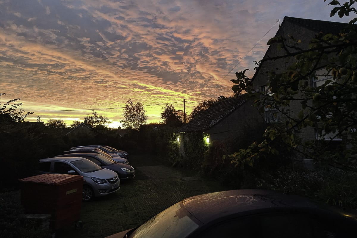 YHA Helmsley Sunset