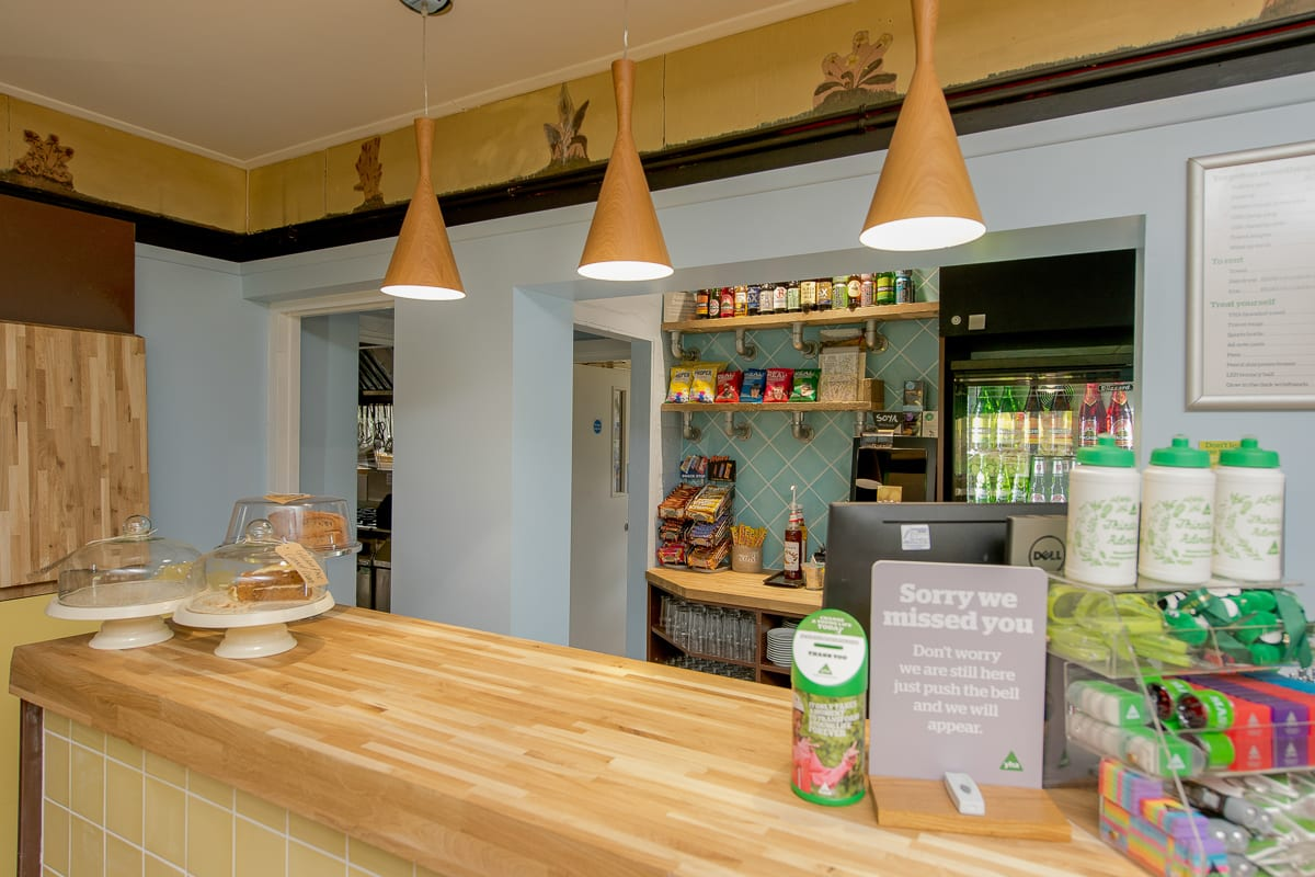 YHA Holmbury St Mary Reception