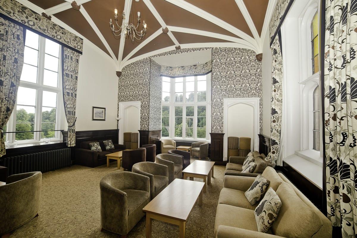 YHA Ilam Hall Lounge