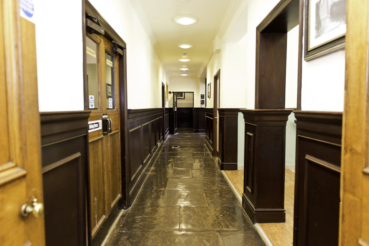 YHA Ilam Hall Hallway