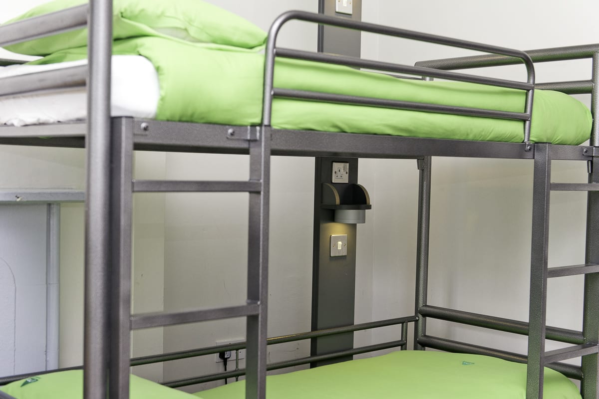 YHA Ilam Hall Bedroom