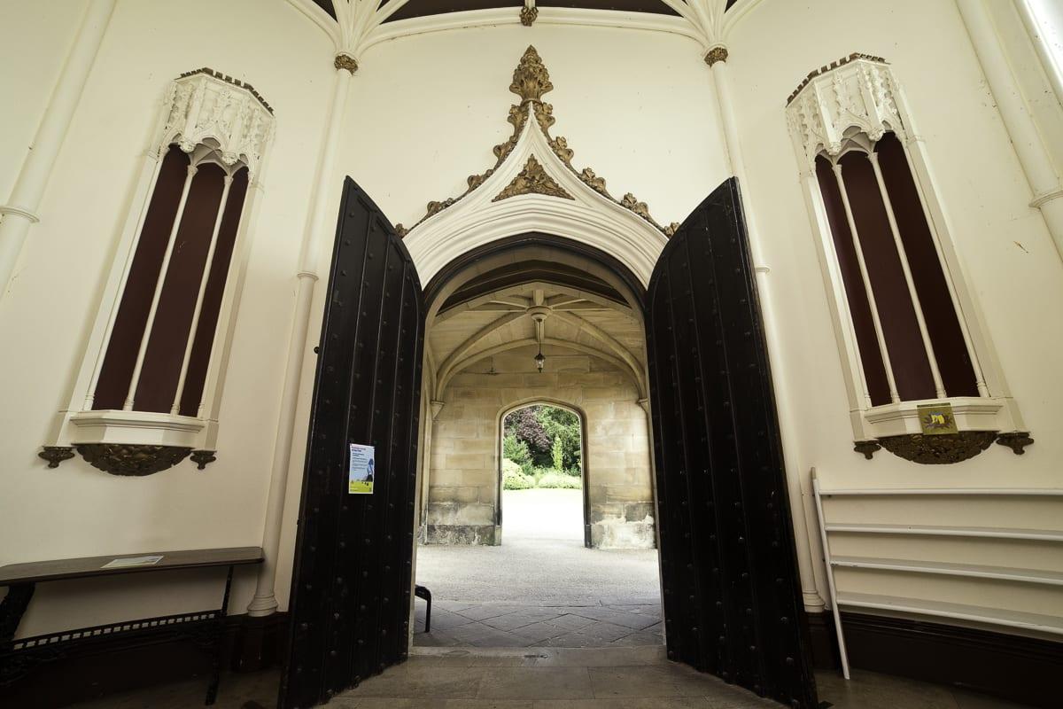 YHA Ilam Hall Entrance