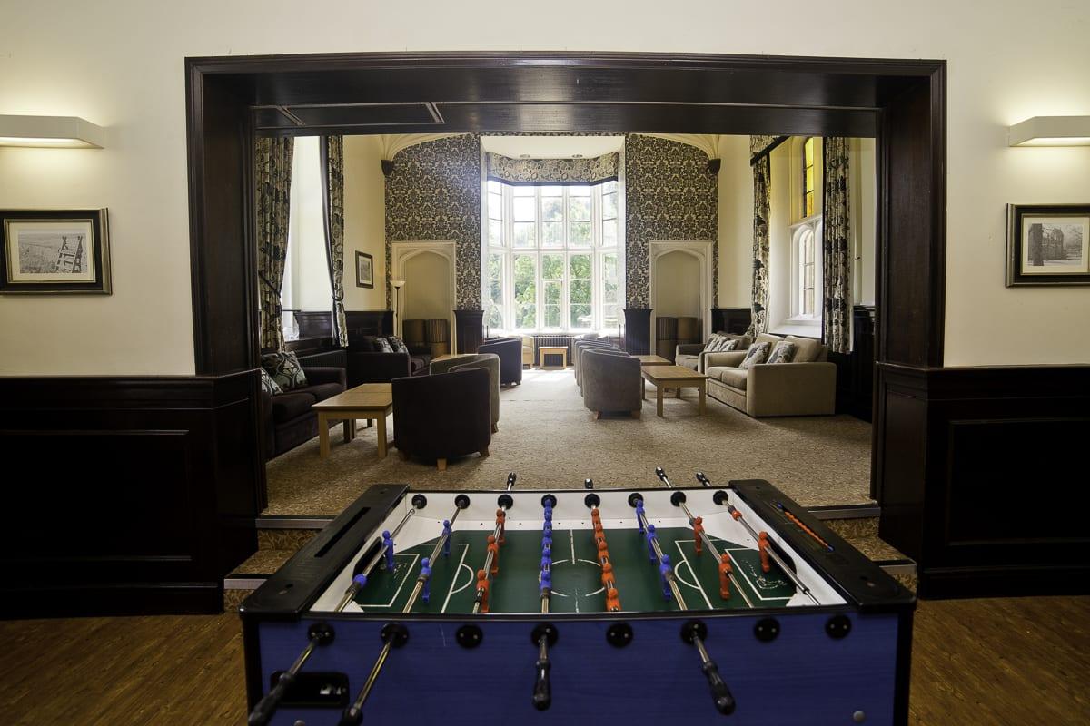 YHA Ilam Hall Games Room