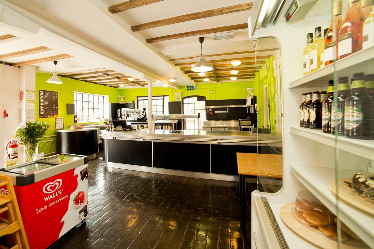 Buffet bar and cafe