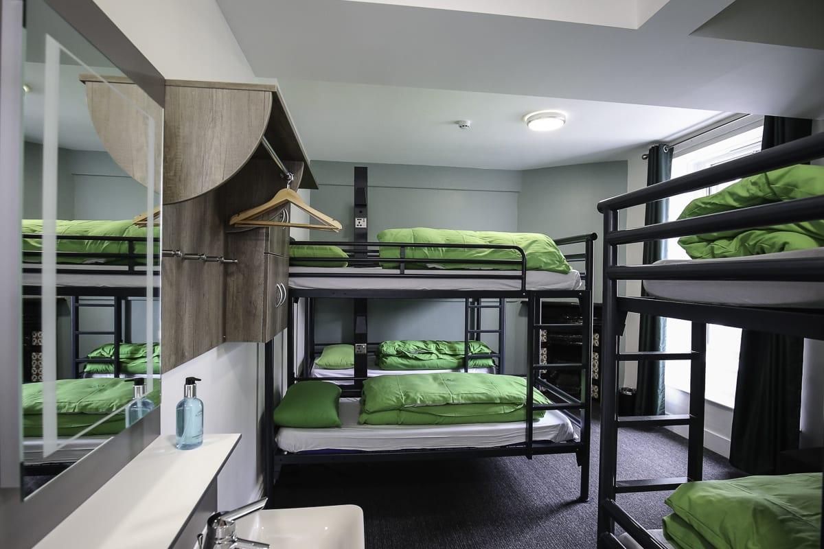 YHA Keswick Bedroom