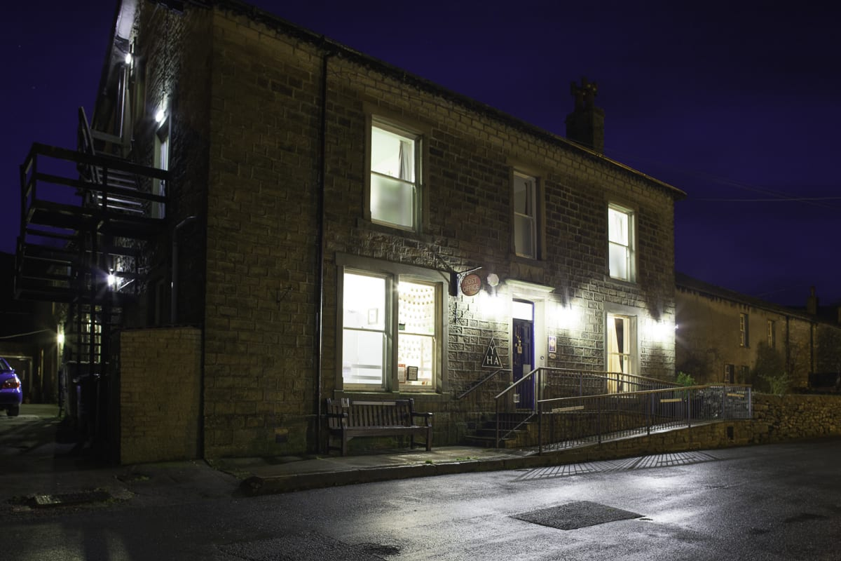 YHA Kettlewell at Night