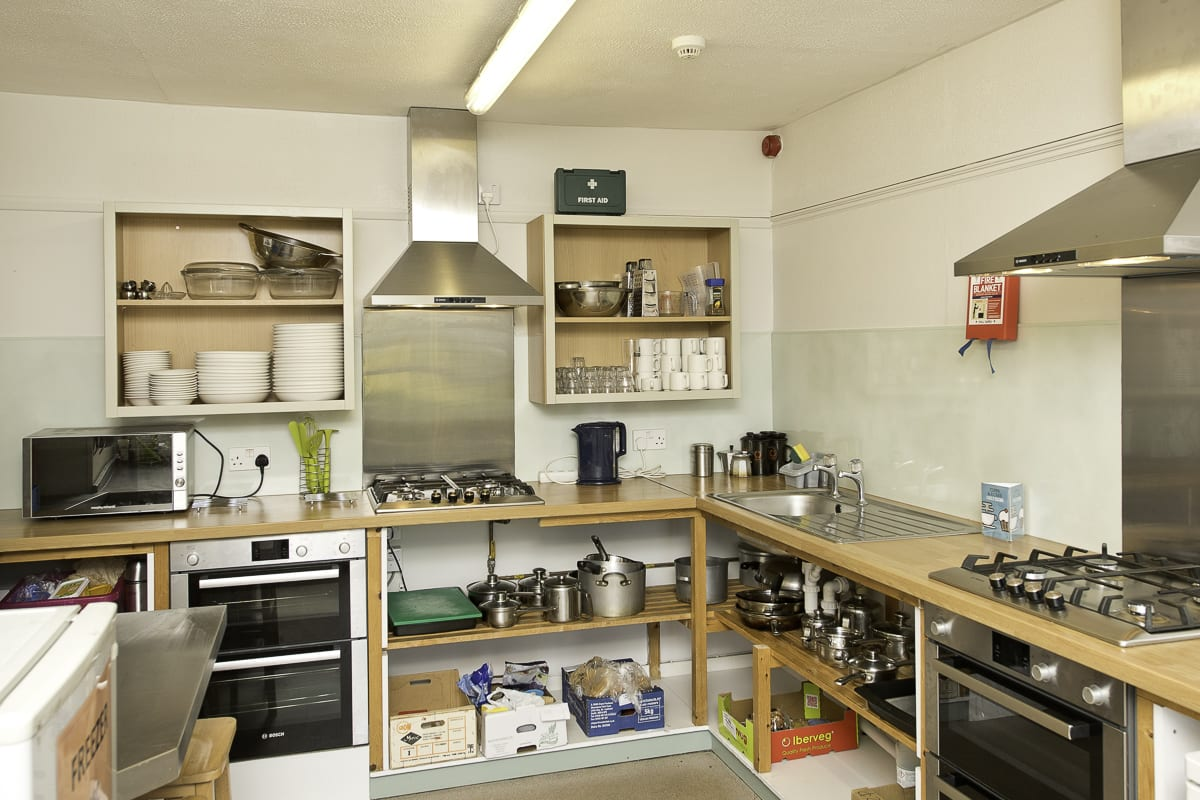 YHA Lands End Kitchen