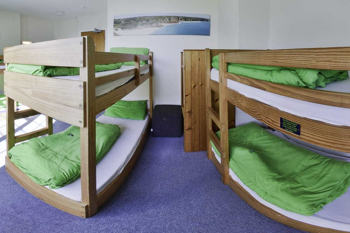 YHA Lands End Bedroom