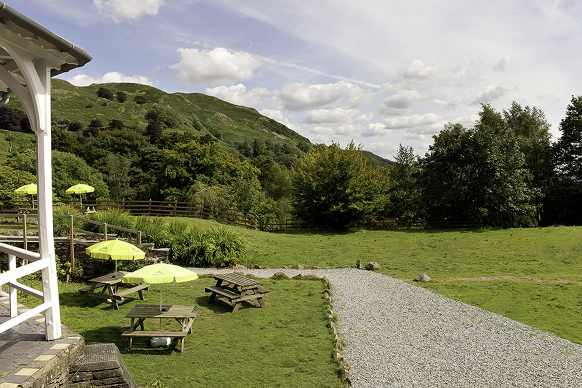 YHA Langdale Garden and Seating