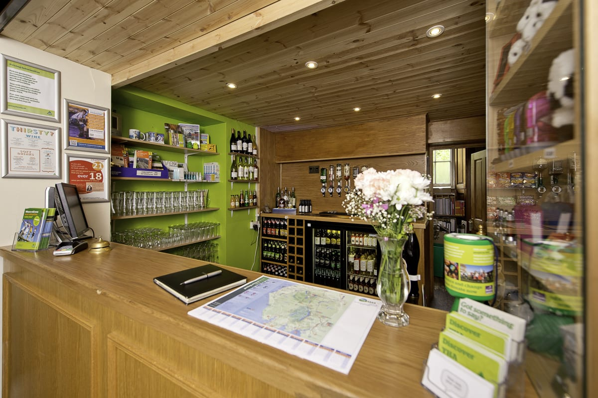 YHA Langdale Reception