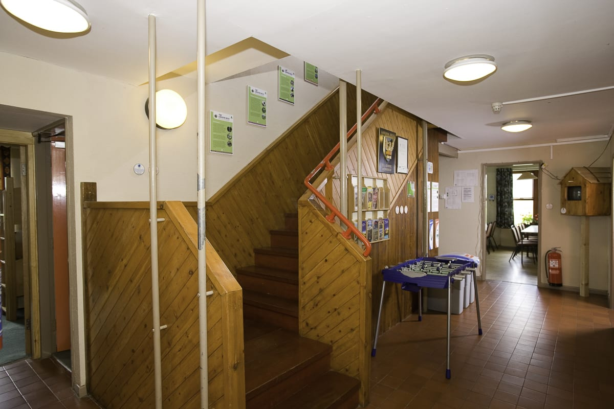YHA Langdon Beck Hallway and Stairs