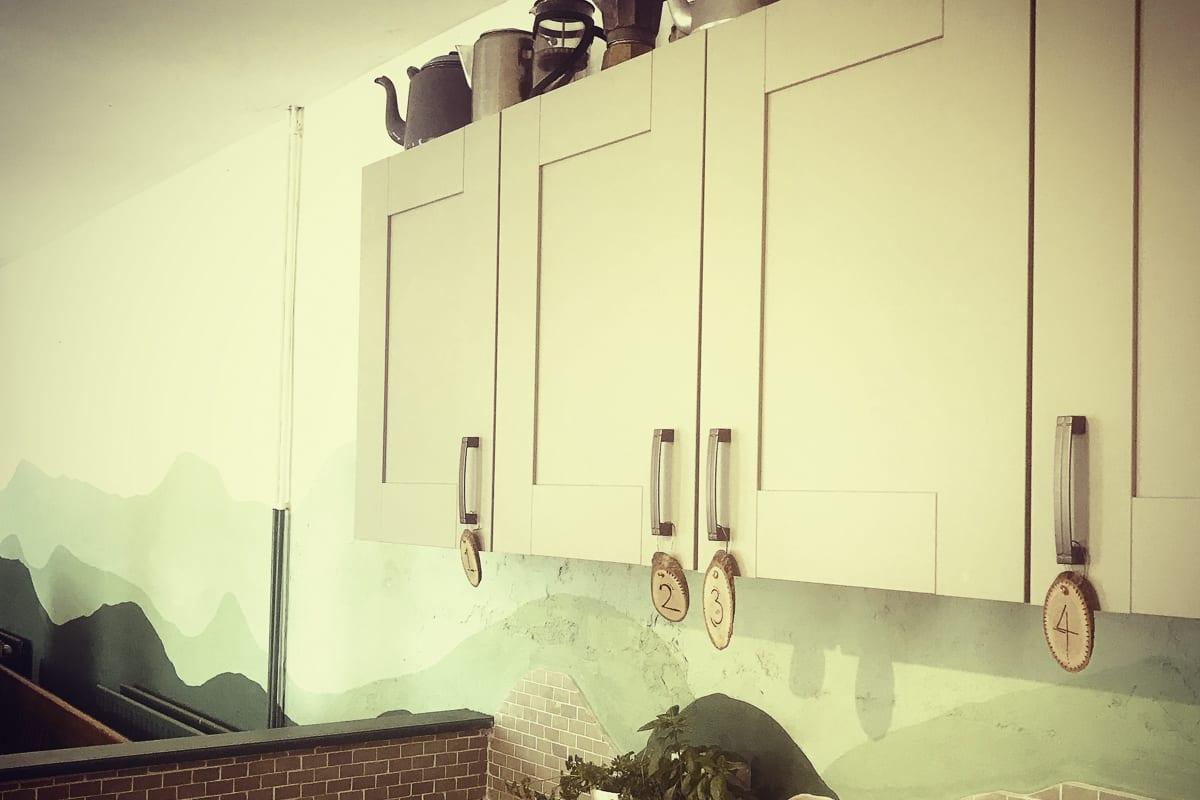 YHA Llanddeusant Kitchen