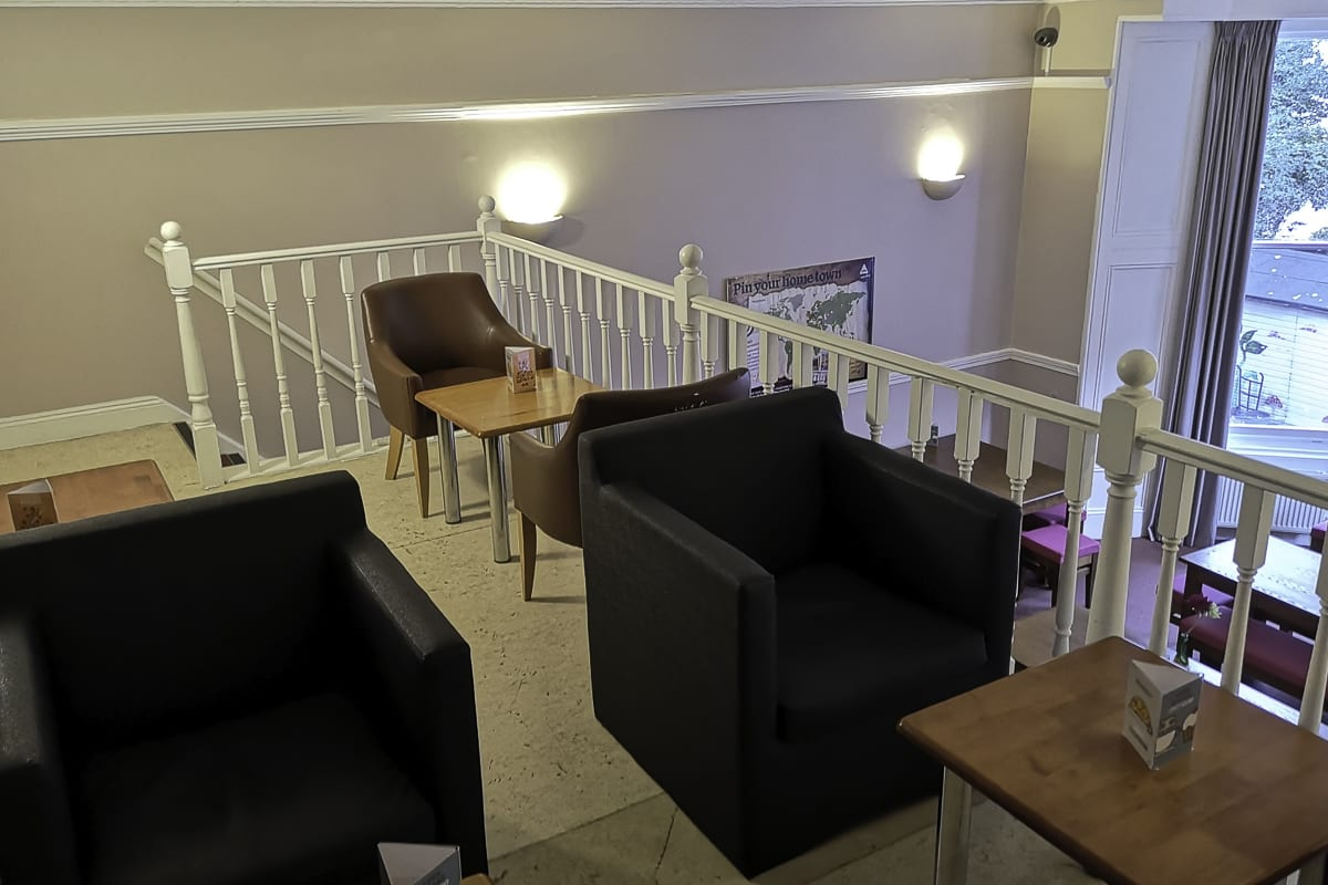 YHA London Earls Court Bedroom Lounge and Dining