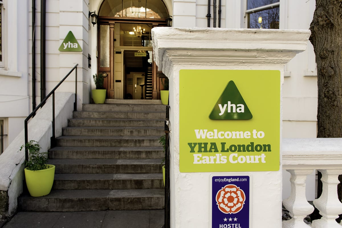 YHA London Earls Court Exterior