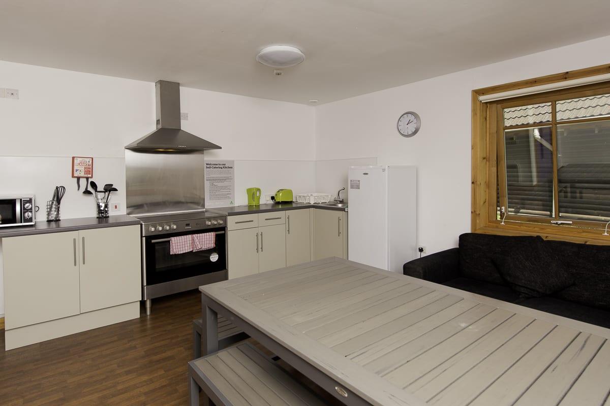 YHA London Lee Valley Kitchen