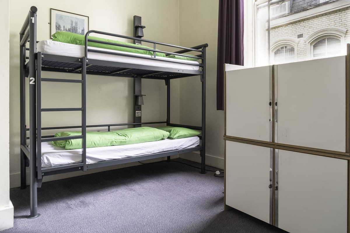 YHA London St Pauls Bedroom