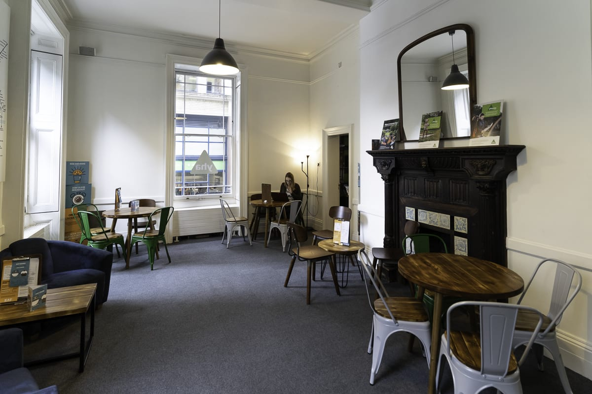 YHA London St Pauls Seating and Dining
