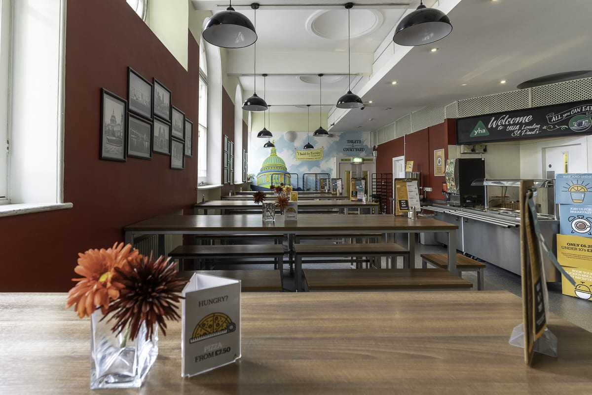 YHA London St Pauls Dining and Cafe