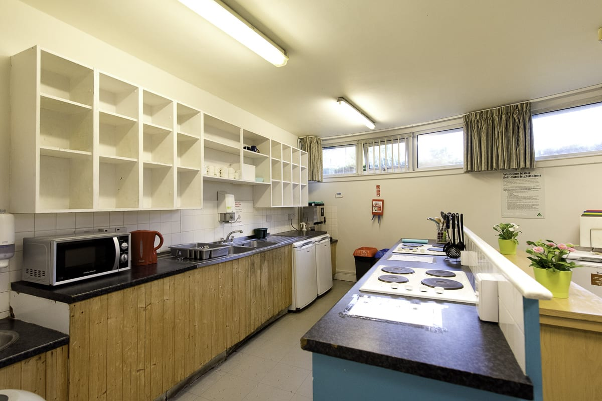 YHA London Thameside Kitchen