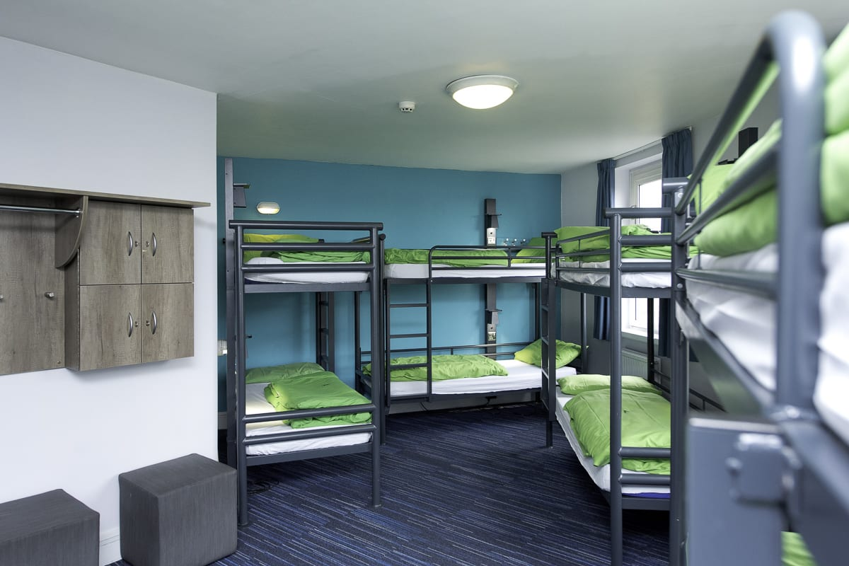 YHA London Thameside Bedroom