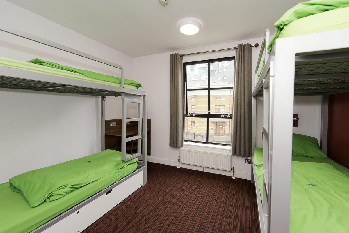 YHA Manchester Bedroom