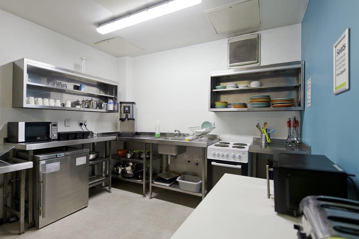YHA Manchester Kitchen