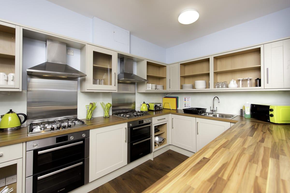 YHA Manorbier Kitchen