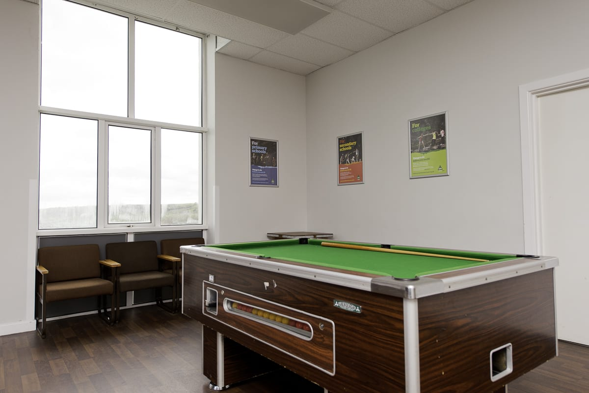 YHA Manorbier Game Room