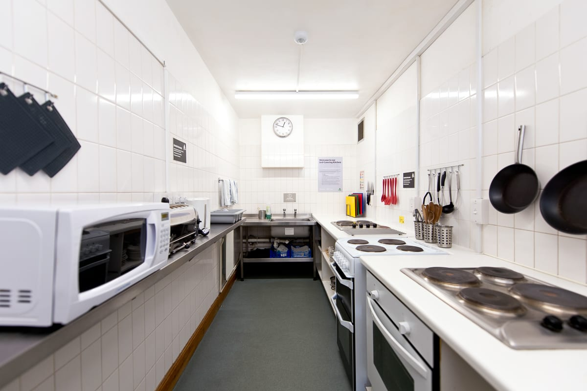 YHA Medway Kitchen