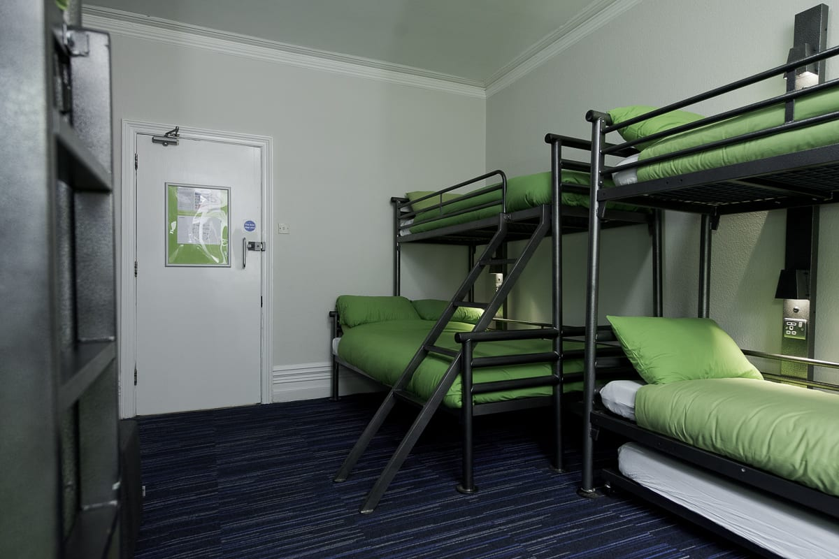 YHA New Forest Bedroom