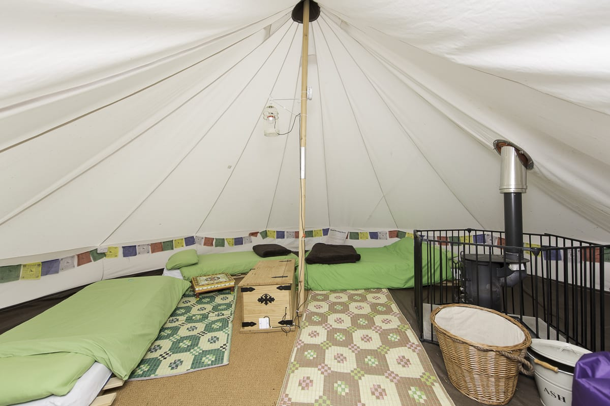 YHA New Forest Bell Tent