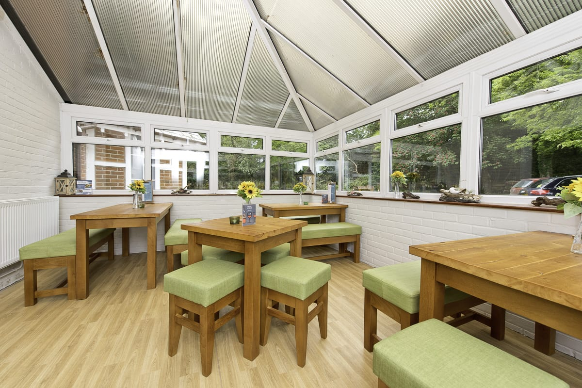 YHA New Forest Conservatory
