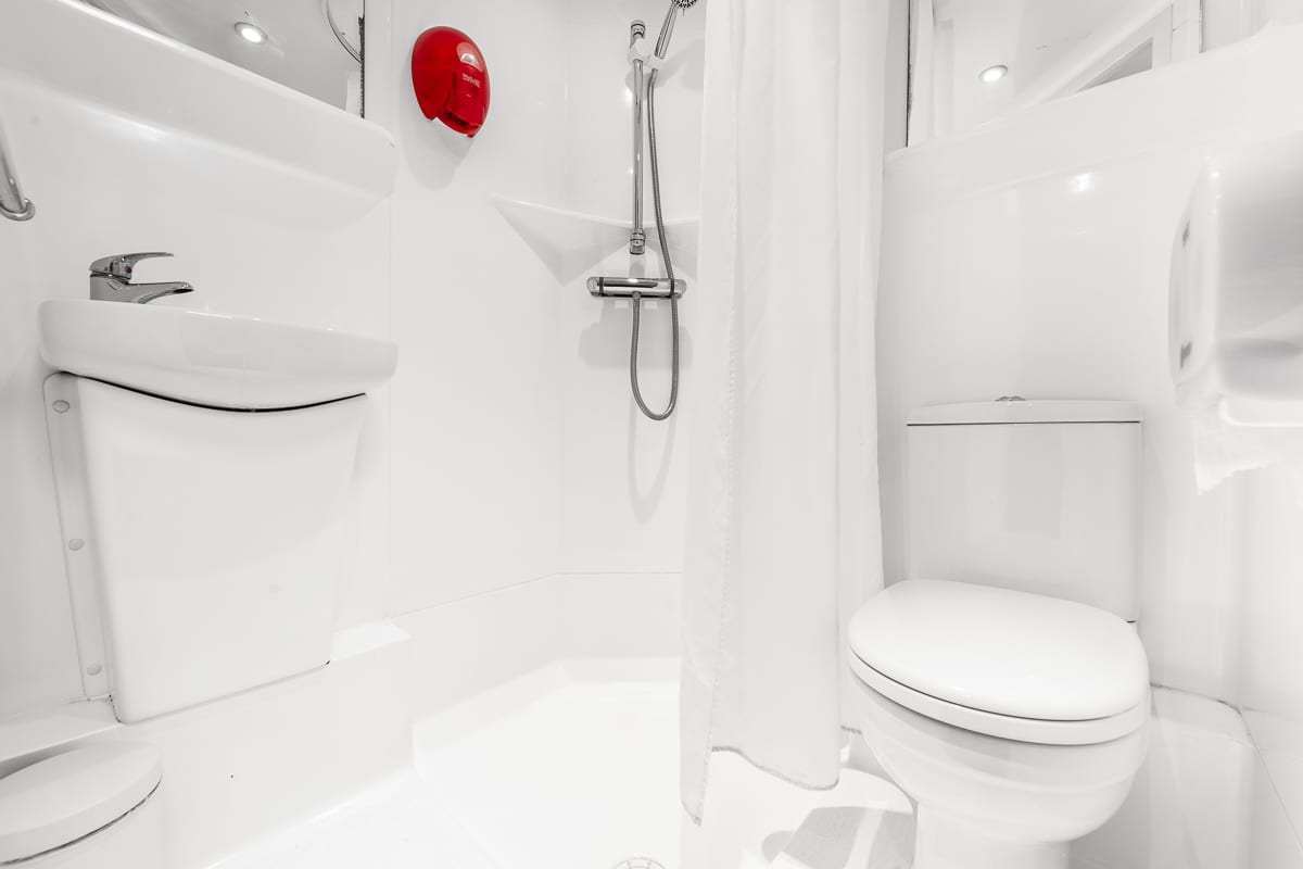 Bathroom in dorm